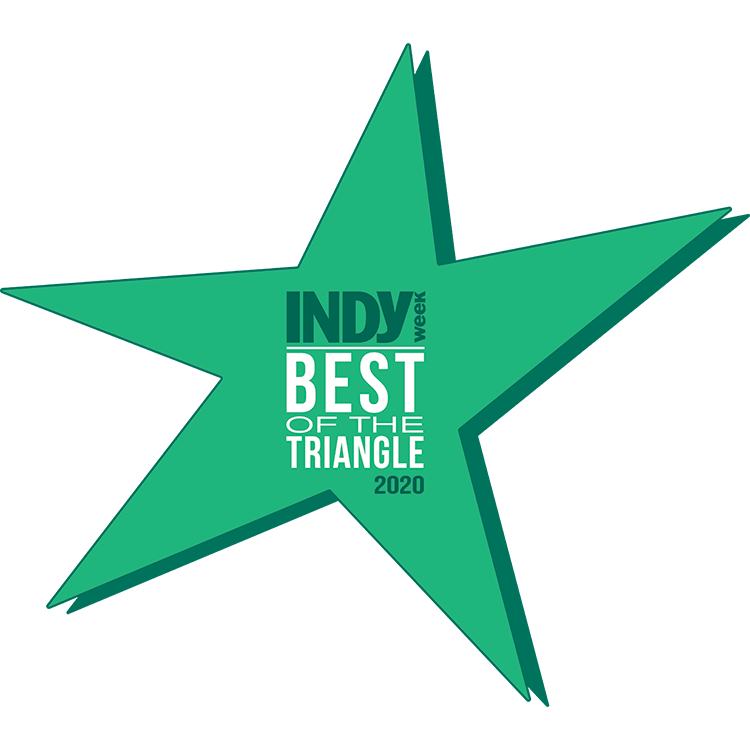 Indy Best of the Triangle 2020 Star